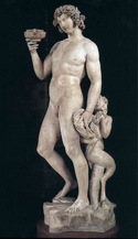 Bacchus, Michelangelo, Museo Nazionale del Bargello, Florence, Italy