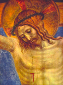 Crucified Christ, Fra Angelico, Museo di San Marco, Florence, Italy