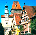 Rothenburg ob der Tauber, Germany, German towns